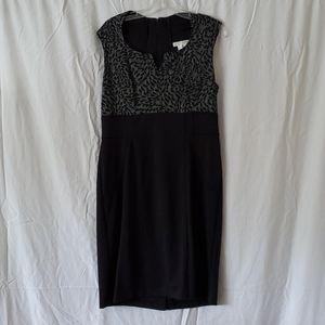 London Times Black/Grey Dress. Never worn.